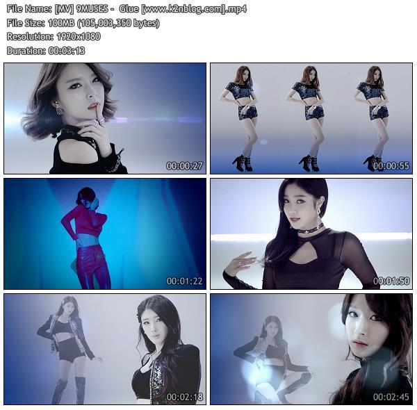 (MV) 9MUSES -Glue (HD 1080p Youtube)