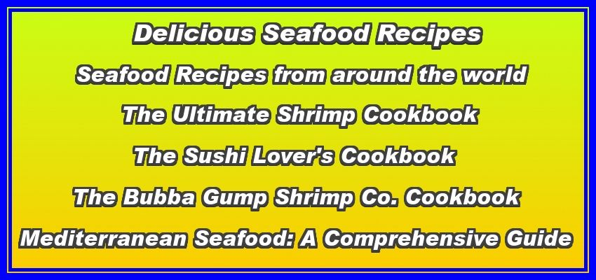 seafood recipes click here if the banner is blank
