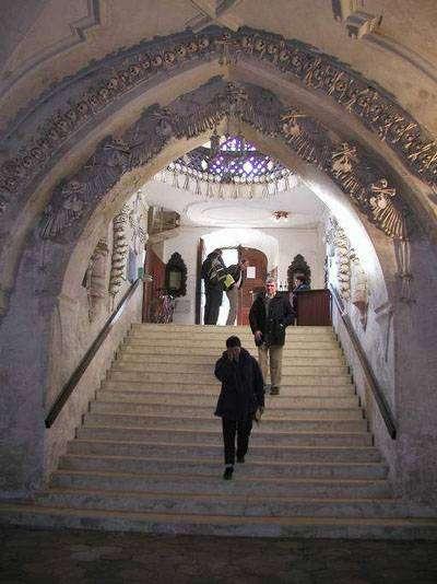 Kemik Kilise | Çek Cumhuriyeti Başkenti Prag'ın 70 km Doğusunda Sedlec Kasabasında Bulunan Ge..
