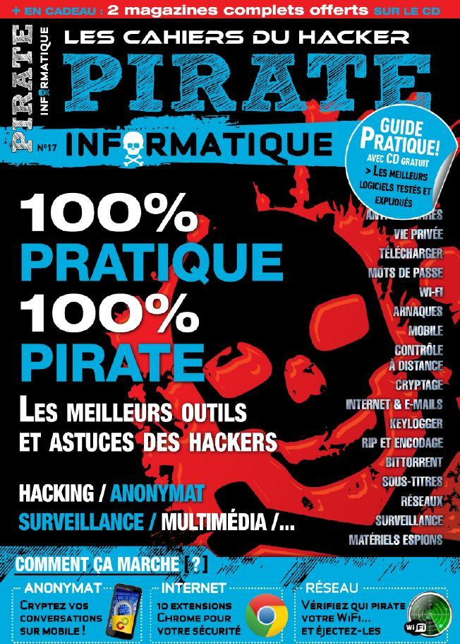 Pirate Informatique N17 Mars Avril Mai 2013