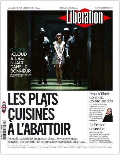 Libération Mercredi 13 Mars 2013