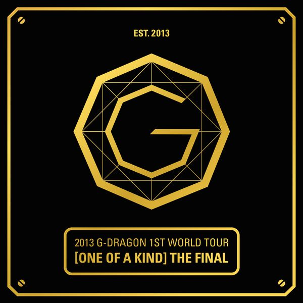 (Album) G-Dragon - 2013 G-DRAGON 1st WORLD TOUR 'ONE OF A KIND': THE FINAL