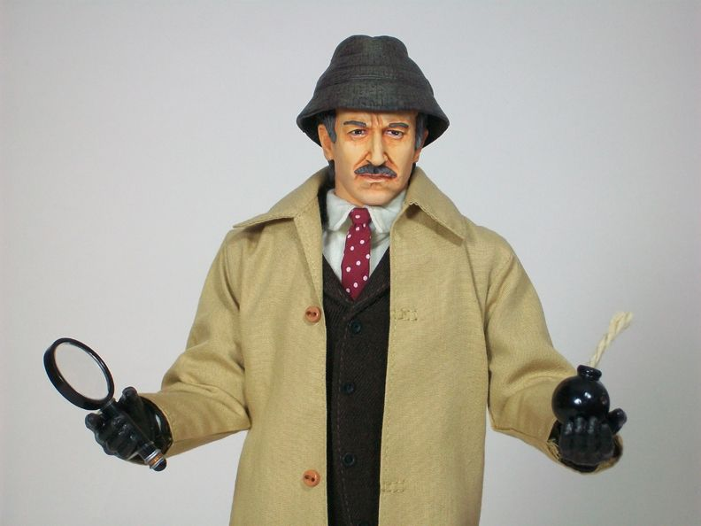 My mix of custom kitbash incorporates a head sculpt by Ada Chan  Dragon DML  body with repainted gloved hands  Sideshow Prof. Jones hat  Mattel  Enchanted