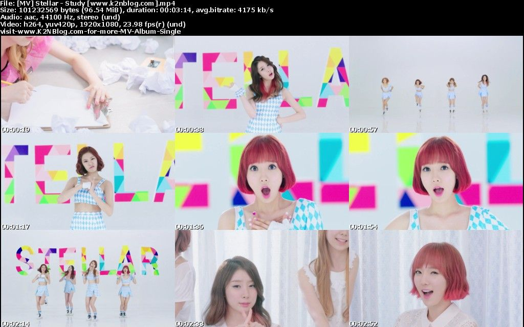 [MV] Stellar - Study [HD 1080p Youtube]
